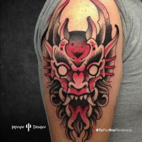 Tatuaje de un demonio