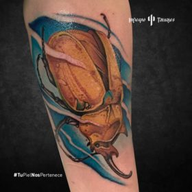 tatuaje de escarabajo, imágenes de tatuajes en el antebrazo, quiero hacerme un tatuaje, infierno tatuajes