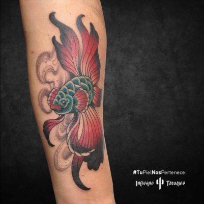 tatuaje de color