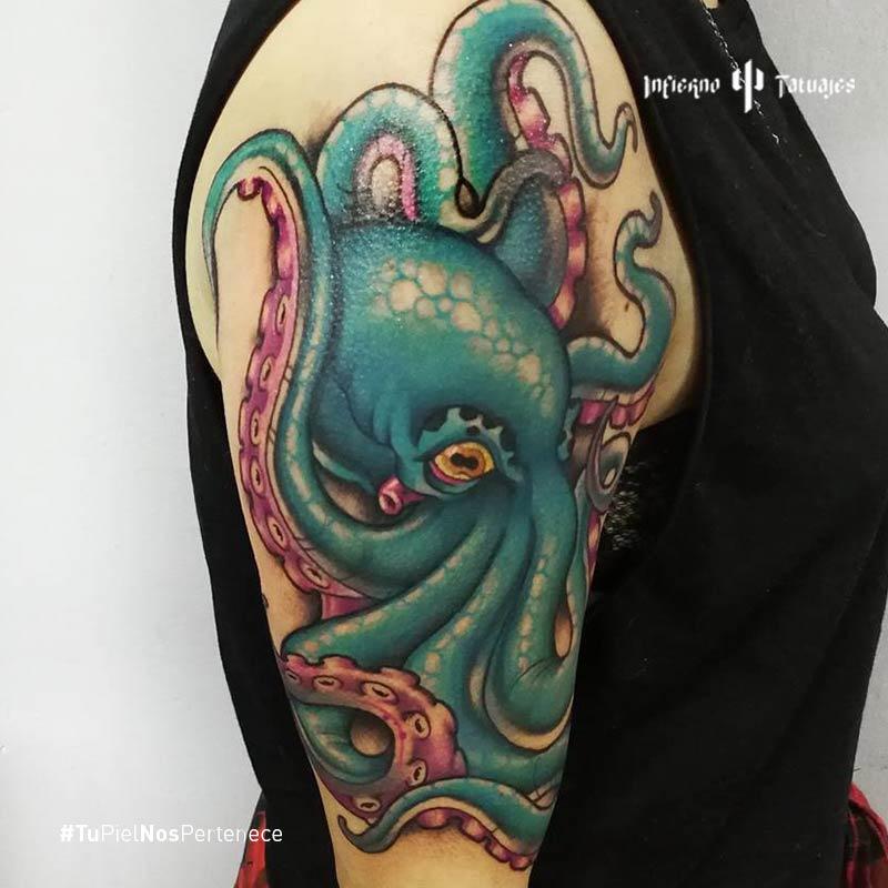 Tatuaje de pulpo