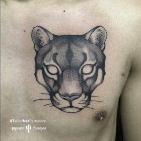 tatuaje de puma