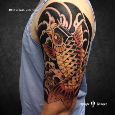 tatuaje de pez