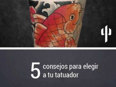 5 consejos para elegir a tu tatuador