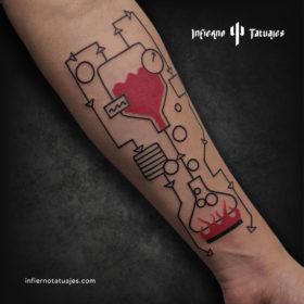 Laboratorio – Creado por Javier Gaona | Infierno Tatuajes
