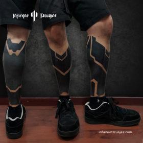 Black leg – Creado por Javier Gaona | Infierno Tatuajes