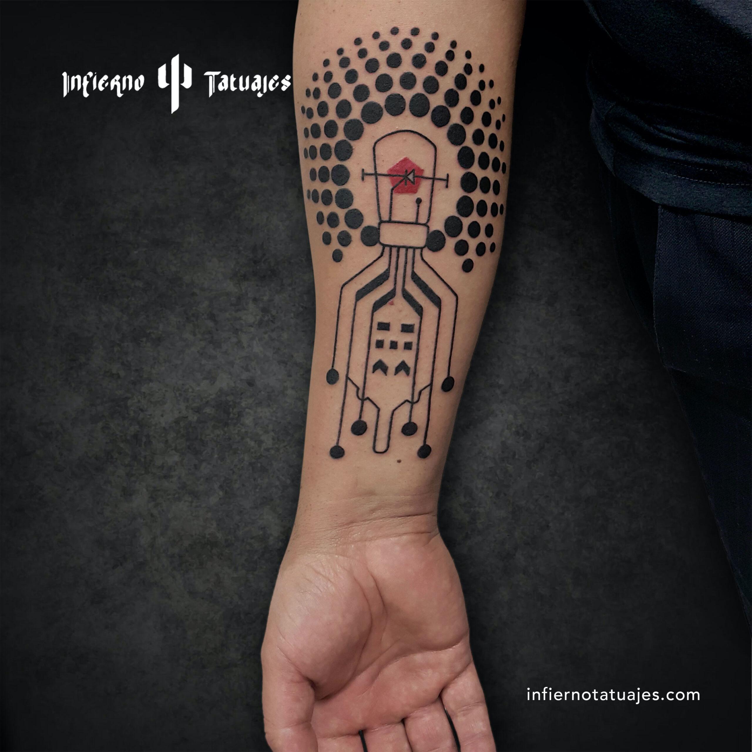 Bulbo – Creado por Javier Gaona | Infierno Tatuajes