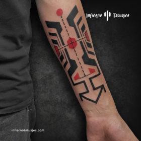 Simetría – Creado por Javier Gaona | Infierno Tatuajes