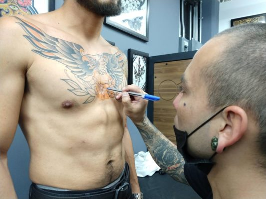 Tatuaje en Infierno