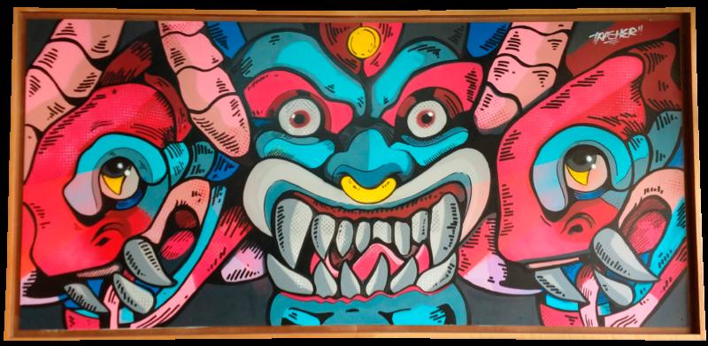 Infierno Tatuajes Graffitti