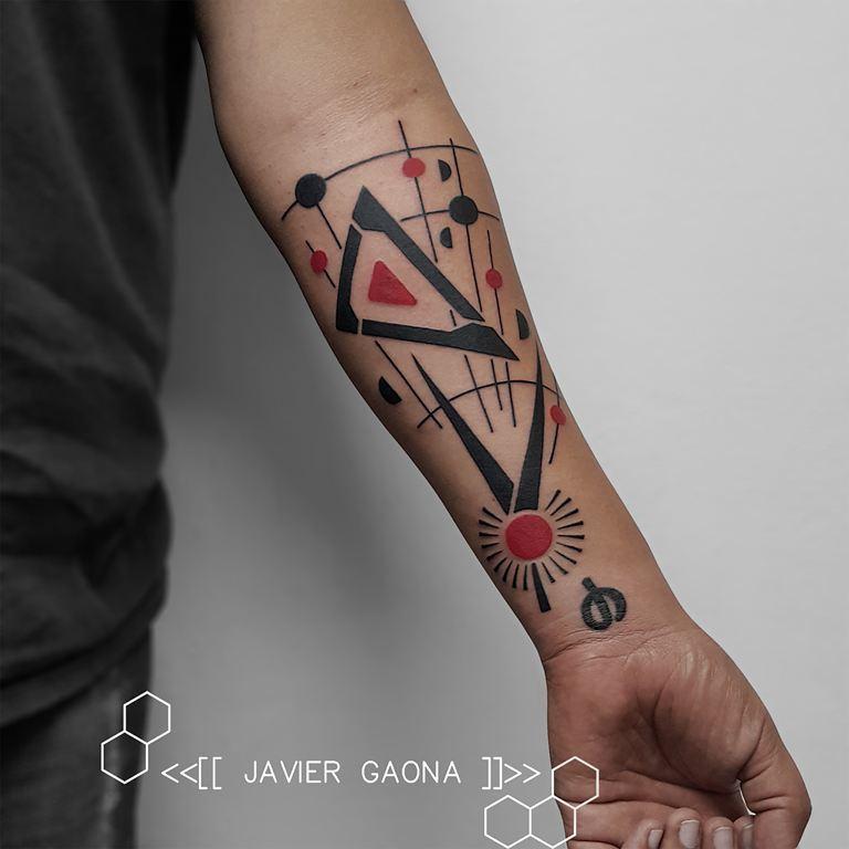 tatuaje minimalista infierno tatuajes