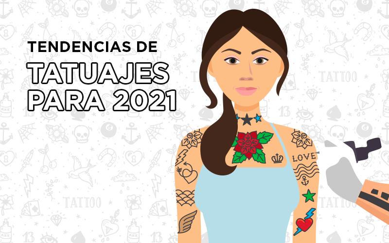 tendencias de tatuajes para 2021