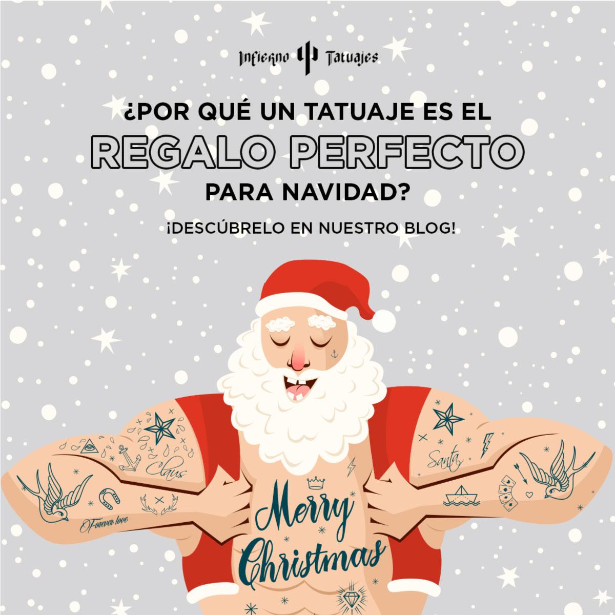 porque un tatuaje es el regalo perfecto para navidad