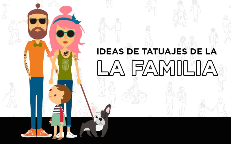 ideas de tatuajes de la familia