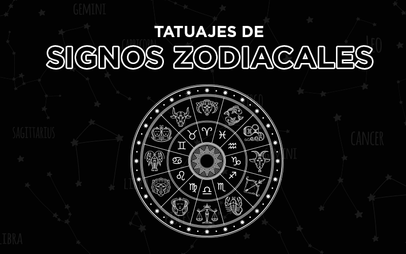 tatuajes de signos zodiacales