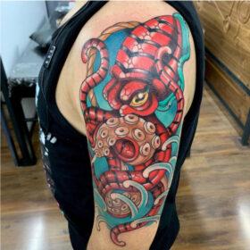 tatuaje kraken chris infierno tatuajes