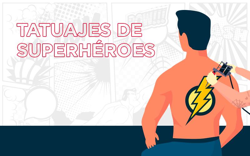 Tatuajes de superhéroes