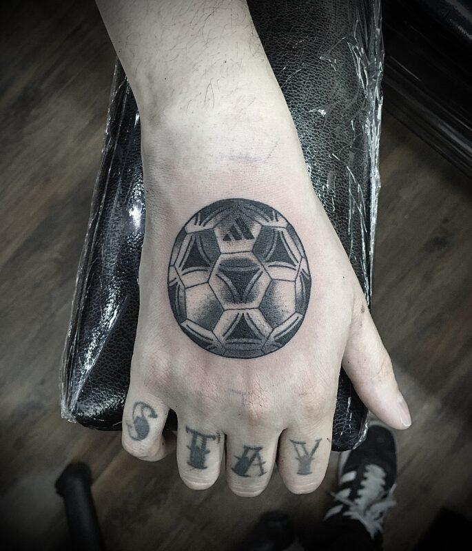 tatuaje de deportista