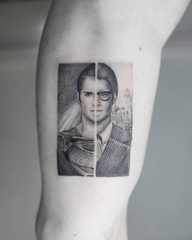 Tatuaje de superman