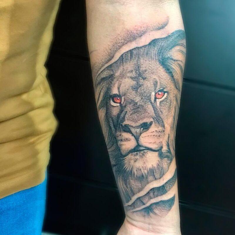 tatuajes de grandes felinos