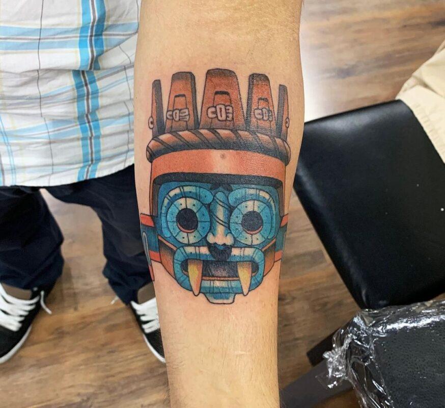 Tatuaje de Tlaloc